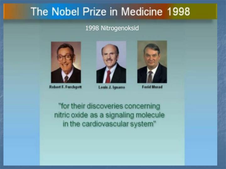 1998 Nitrogenoksid