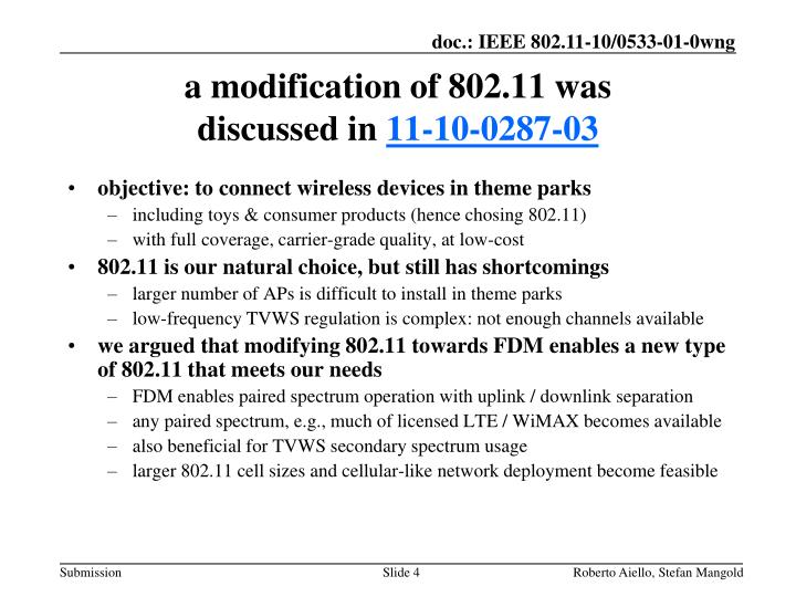objective: to connect wireless devices in theme parks