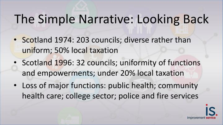 The Simple Narrative: Looking Back