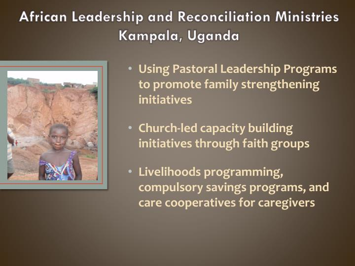 Using Pastoral Leadership Programs to promote family
