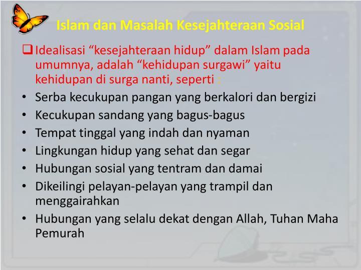 Islam dan Masalah Kesejahteraan Sosial