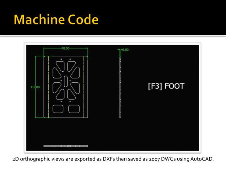 Machine Code