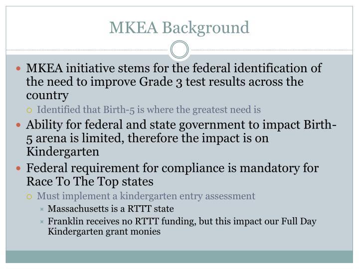 MKEA Background