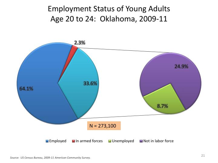 Employment Status of Young Adults