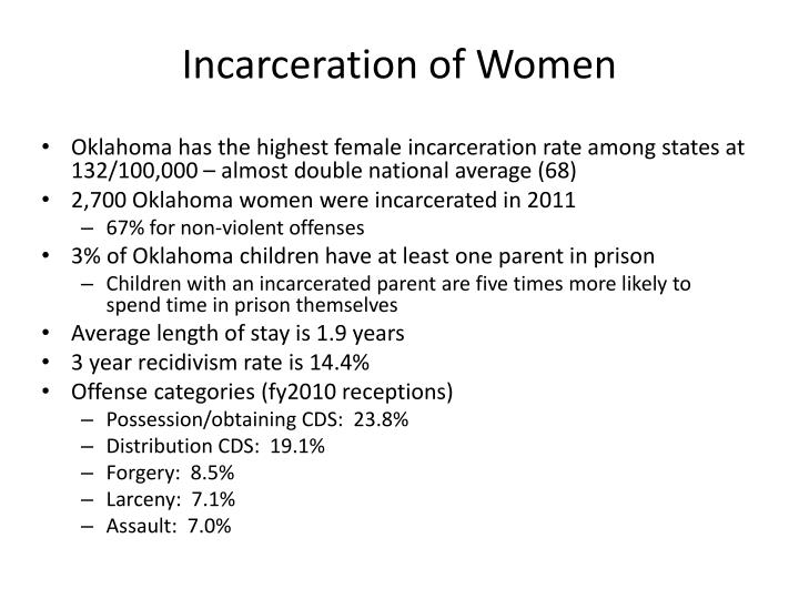 Incarceration of Women