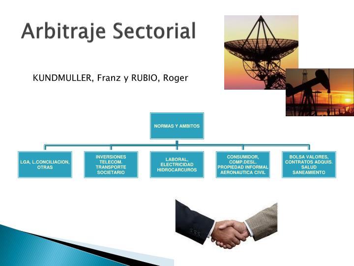Arbitraje Sectorial