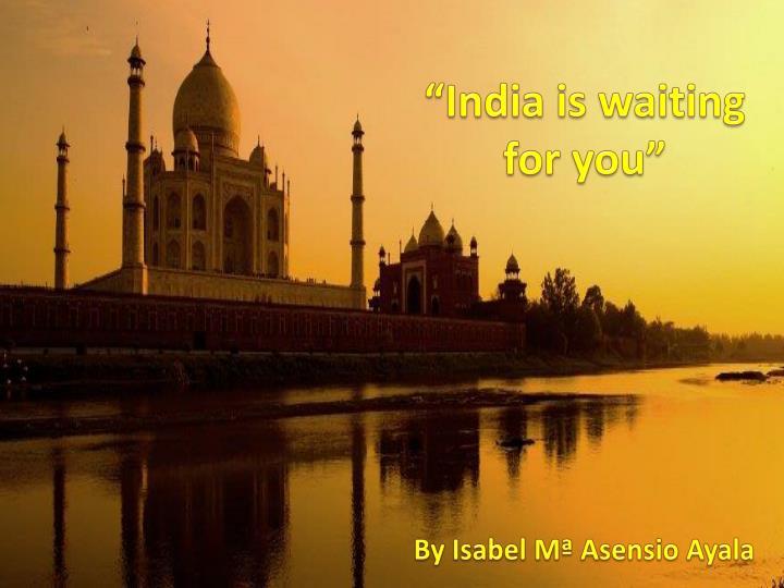 """""""India"""
