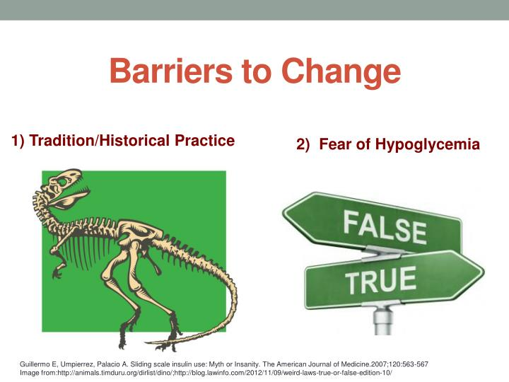 Barriers to Change