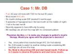 case 1 mr db1