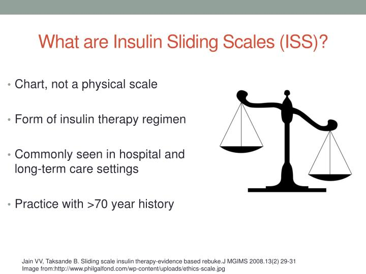 What are Insulin Sliding Scales (ISS)?