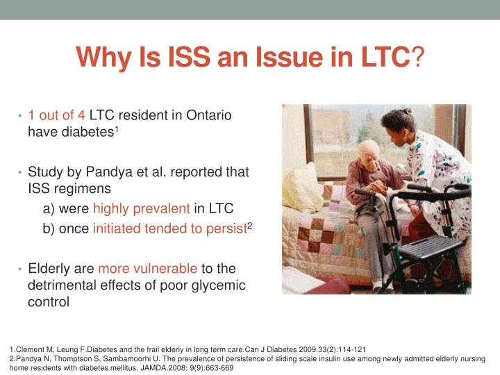 Why Is ISS an Issue in LTC