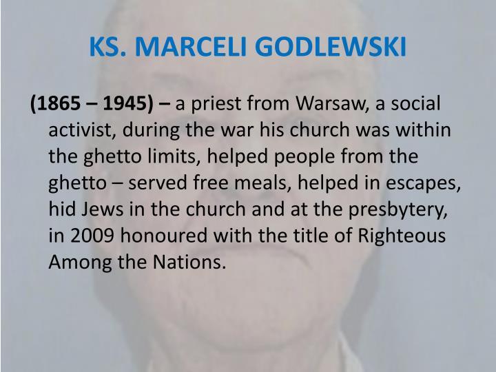 KS. MARCELI GODLEWSKI