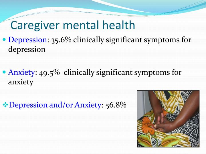 Caregiver mental health
