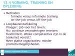 13 4 vorming training en opleiding