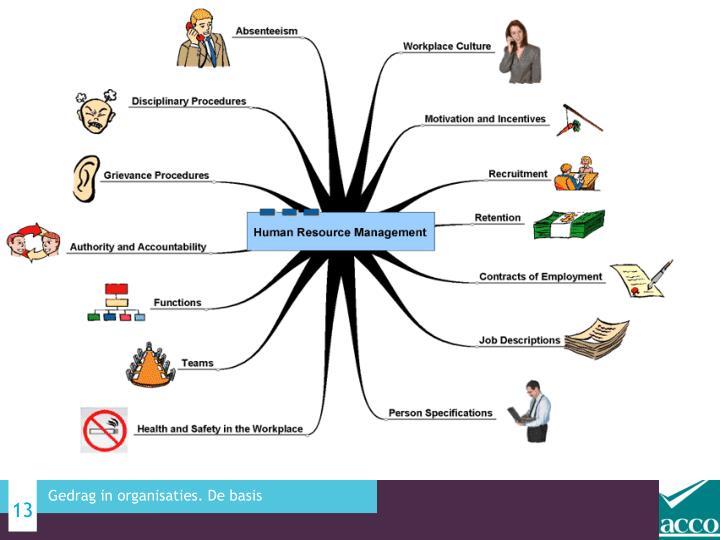 Gedrag in organisaties. De basis
