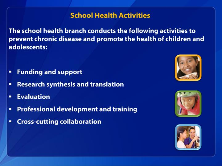 School Health Activities