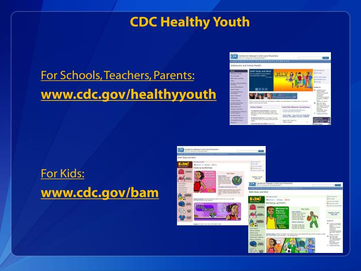 CDC Healthy Youth