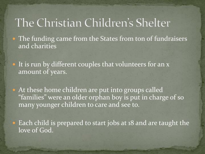 The Christian Children's Shelter