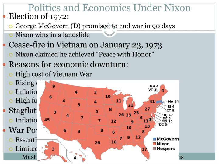 Politics and Economics Under Nixon
