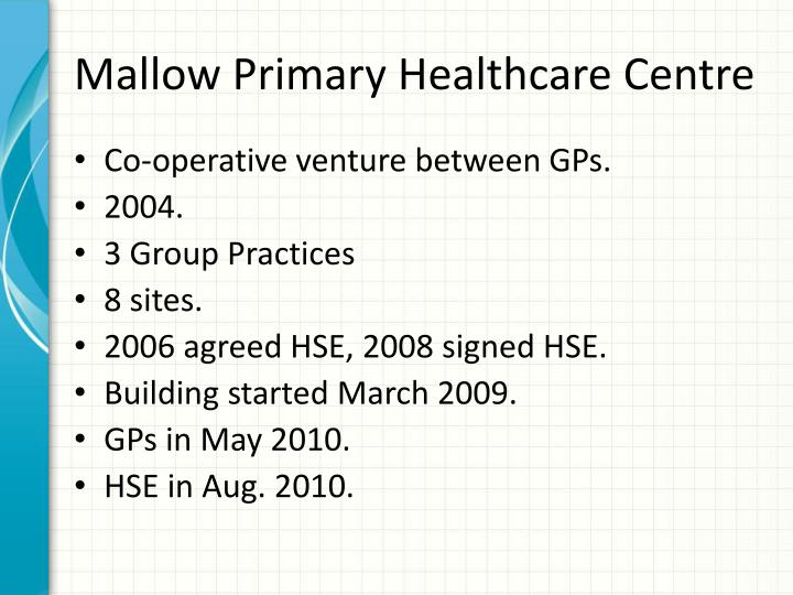 Mallow Primary Healthcare Centre