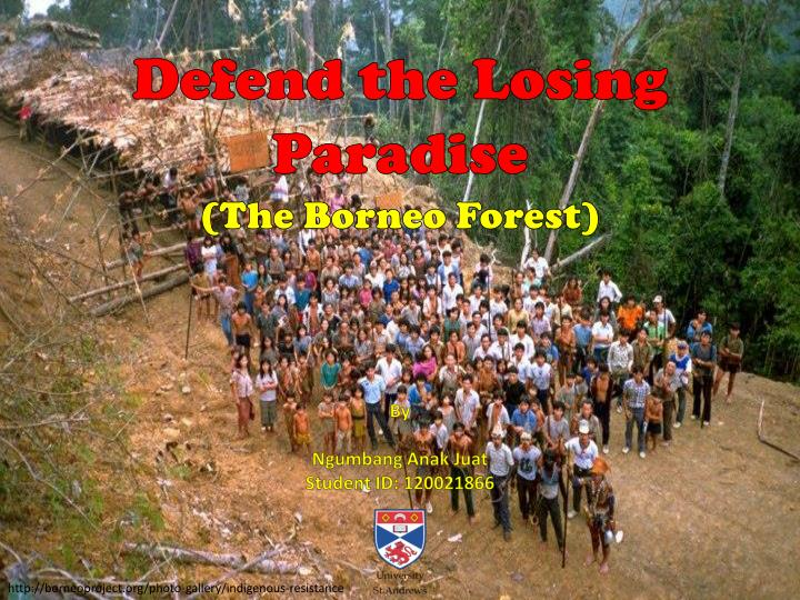 Defend the Losing Paradise