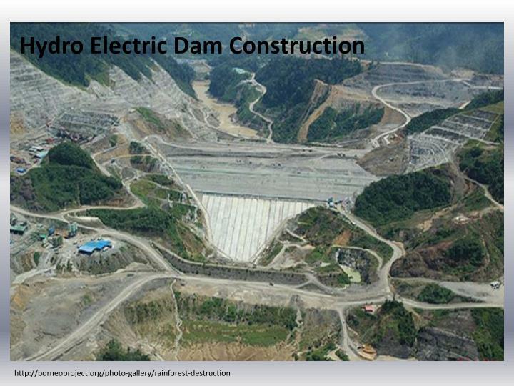 Hydro Electric Dam Construction