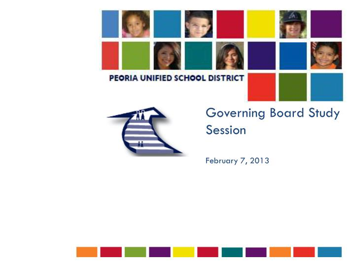 Governing Board Study Session