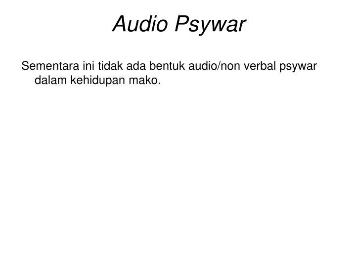 Audio Psywar