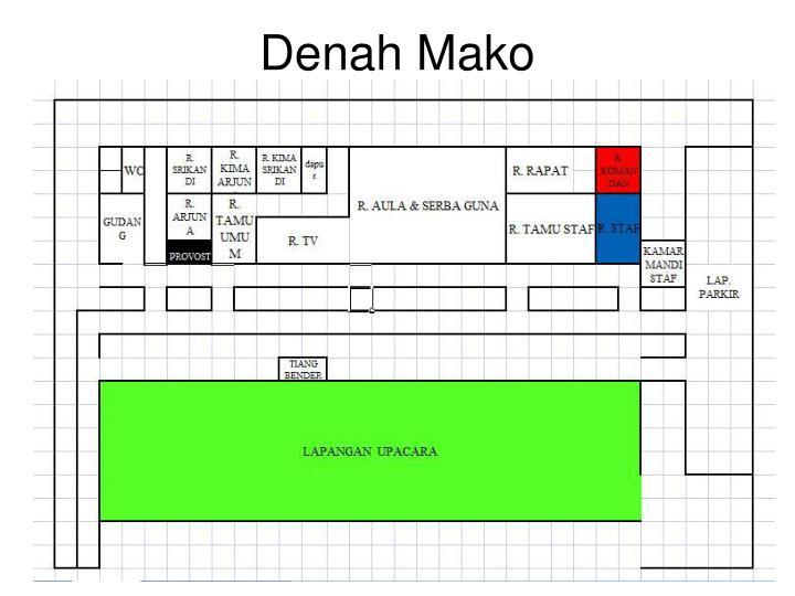 Denah Mako