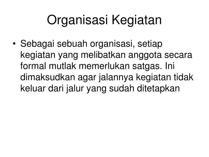 Organisasi Kegiatan