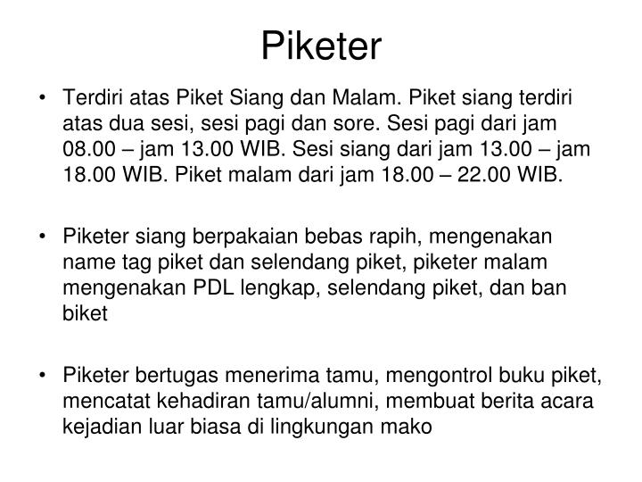 Piketer