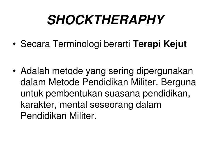 SHOCKTHERAPHY