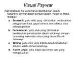 visual psywar