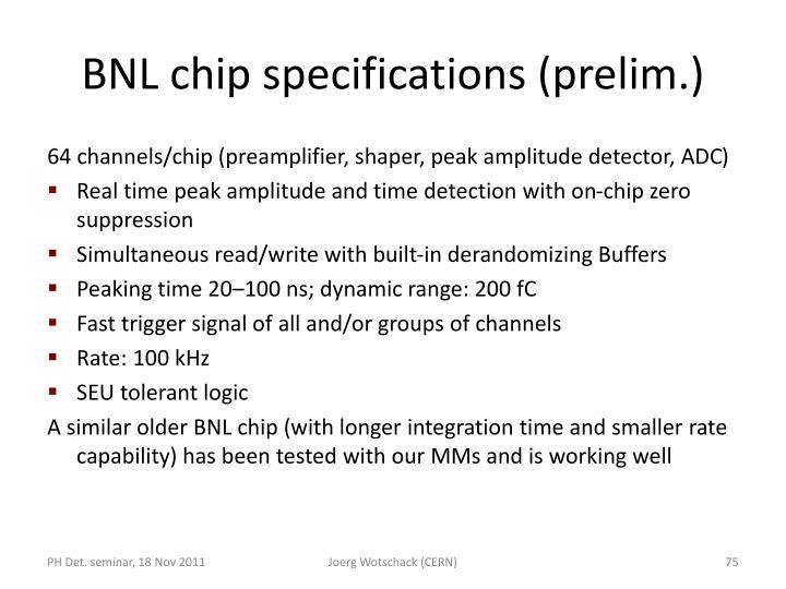 BNL chip
