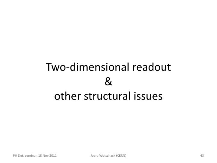 Two-dimensional