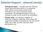 statechart diagrams advanced concepts5