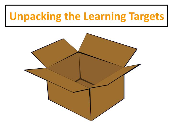 Unpacking the Learning Targets