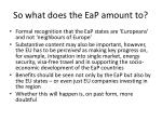 so what does the eap amount to