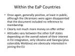 within the eap countries