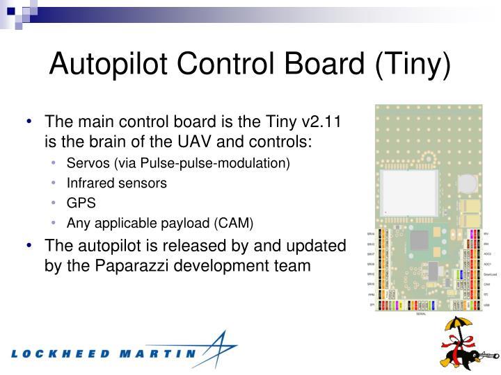 Autopilot Control Board (Tiny)