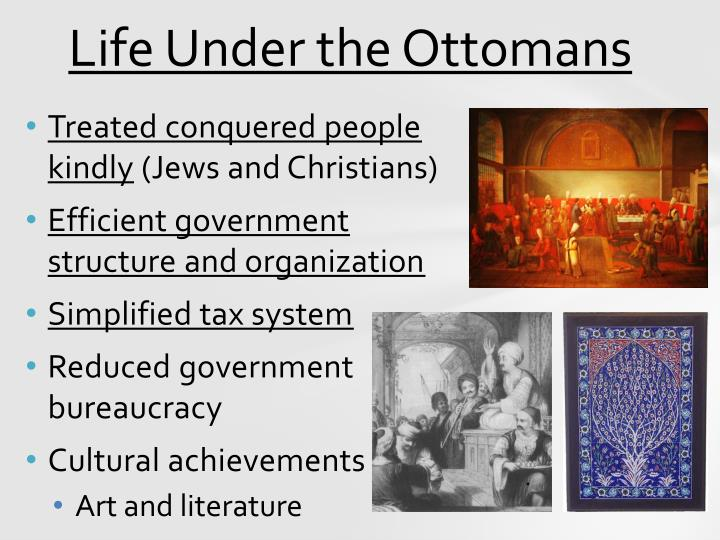 Life Under the Ottomans