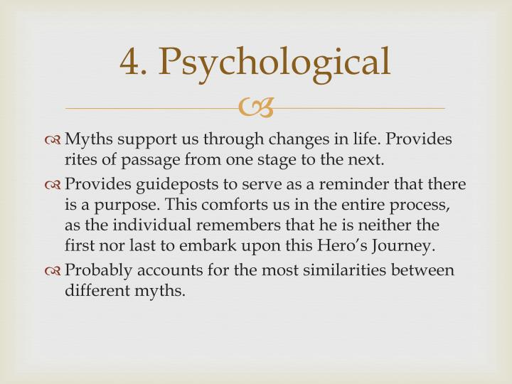 4. Psychological