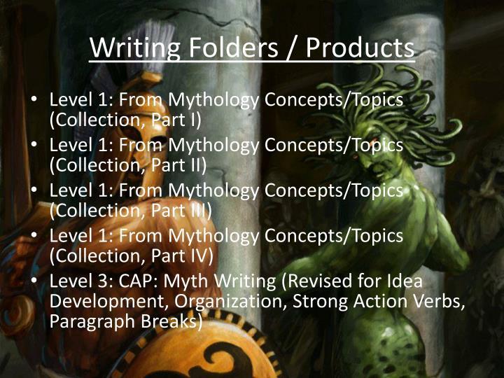 Writing Folders /