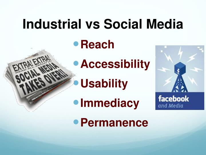 Industrial vs Social Media