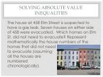 solving absolute value inequalities5