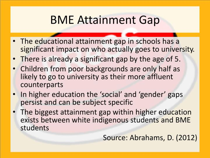 BME Attainment Gap
