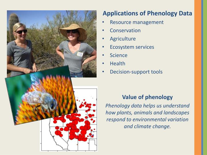 Applications of Phenology Data