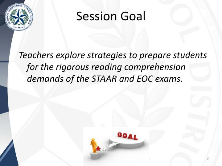Teachers explore strategies to prepare students for the rigorous reading comprehension demands of the STAAR and EOC exams.