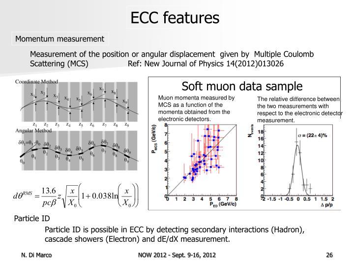 ECC features