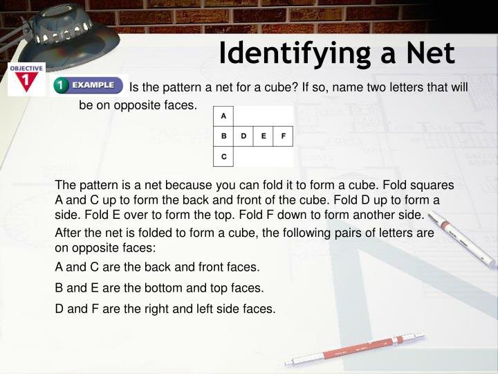 Identifying a Net
